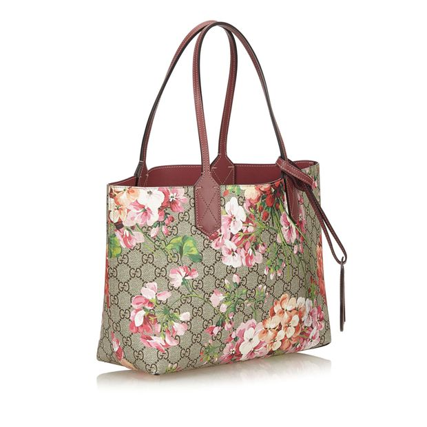959d802a563c Small Reversible GG Blooms Tote by GUCCI | StyleTribute.com