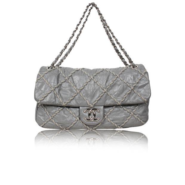 Maxi Ultra Stitch Jumbo Classic Flap Bag by CHANEL  c551f93b73fa6