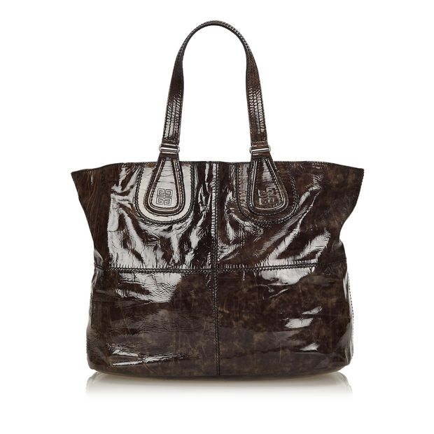 56b1e0839eab Patent Nightingale Tote by GIVENCHY