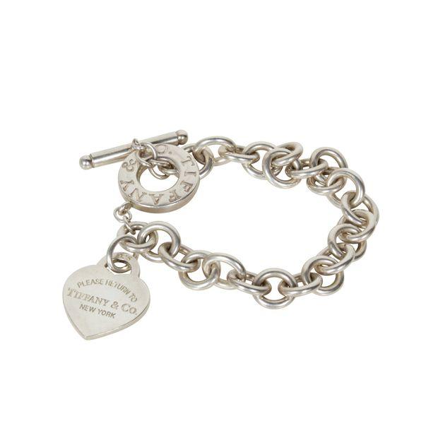 e248e33b9 TIFFANY & CO Return to Tiffany™ heart tag toggle bracelet in sterling  silver, ...