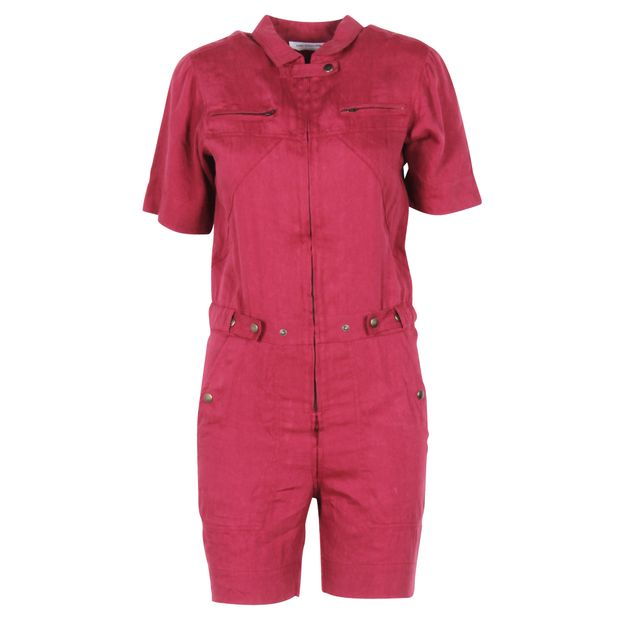 1168b419647 ISABEL MARANT ETOILE Pink Short Jumpsuit 0 thumbnail