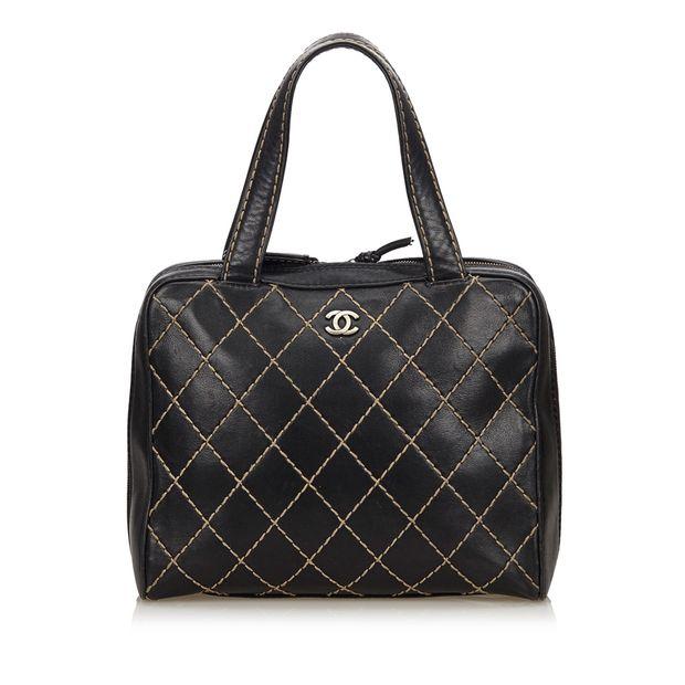 e45175df6bd0 Lambskin Leather Surpique Handbag by CHANEL | StyleTribute.com
