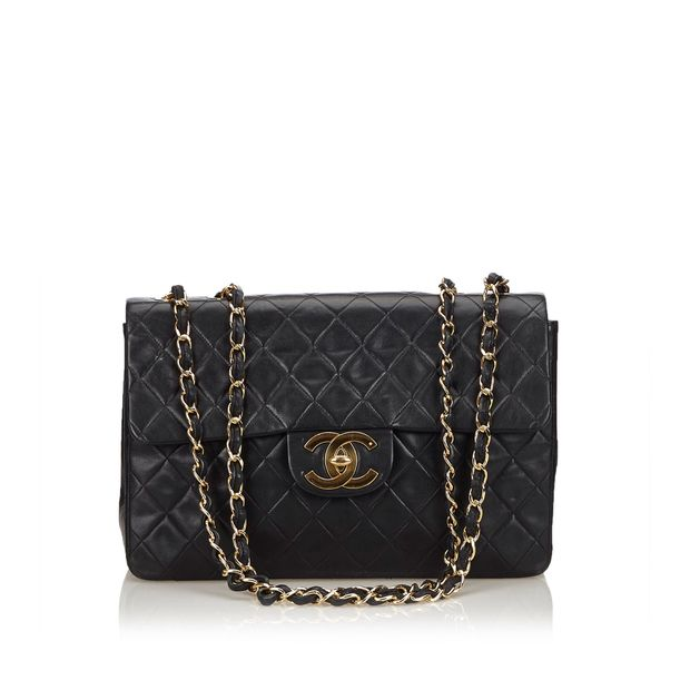 95afa7ebc63a Classic Maxi Lambskin Single Flap Bag by CHANEL