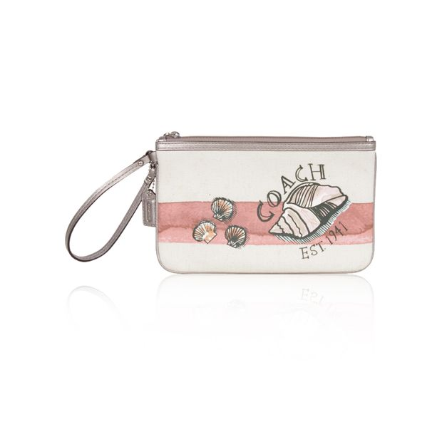 Cotton Fabric Clutch with Prints