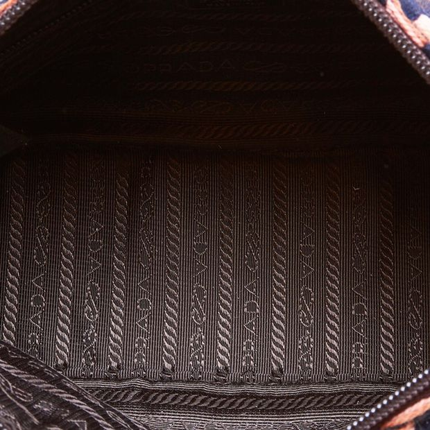 3db5e5b4 Printed Wool Handbag