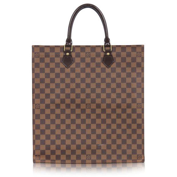f3813e415d2e LOUIS VUITTON Louis Vuitton Sac Plat NM Damier Ebene 1 thumbnail