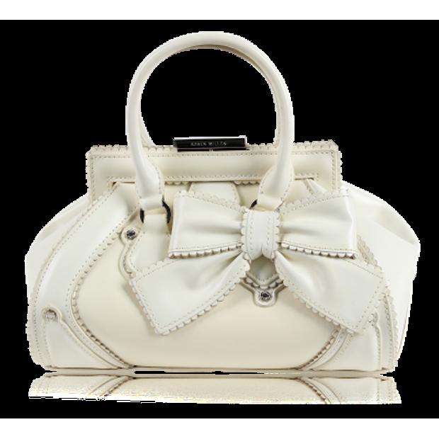 d51fa869ad KAREN MILLEN White Bag with Bow 0 thumbnail