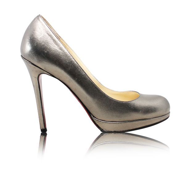 sale retailer 89e42 723e2 Silver Pumps