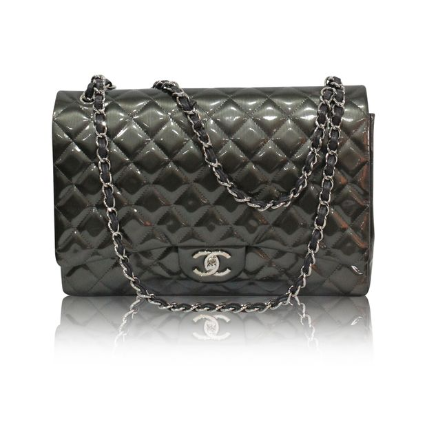 f51a707d6cb5 Patent Classic Jumbo Bag by CHANEL | StyleTribute.com