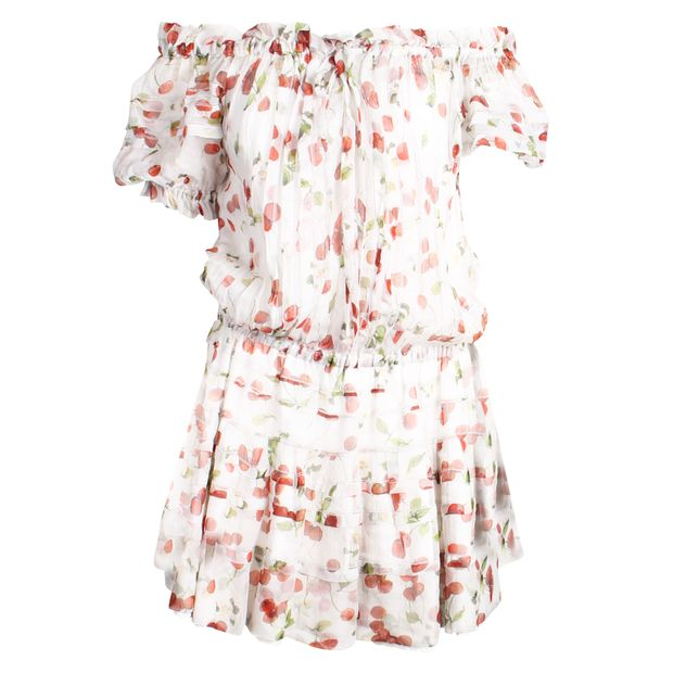 de988bd8 Cherry print flouces dress by DOLCE & GABBANA | StyleTribute.com