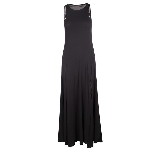90d224fa76e DKNY Black Maxi Cotton Dress DKNY Black Maxi Cotton Dress zoomed