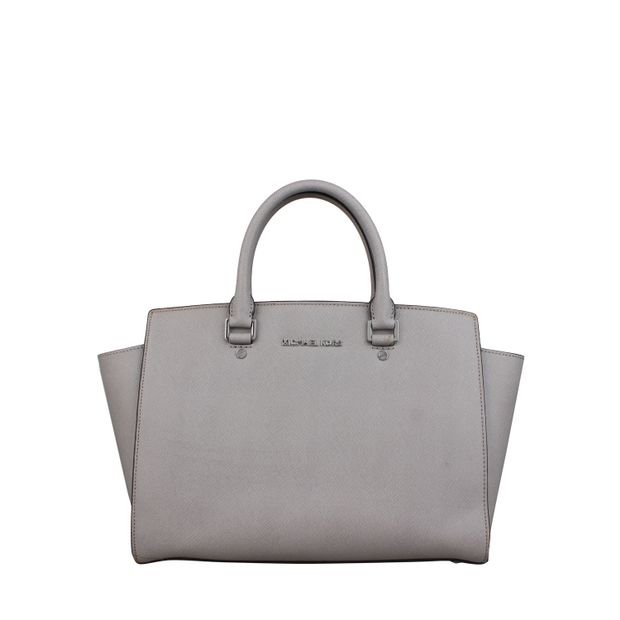 4644cbfef6df Michael kors Selma Large Bag in Grey by MICHAEL KORS