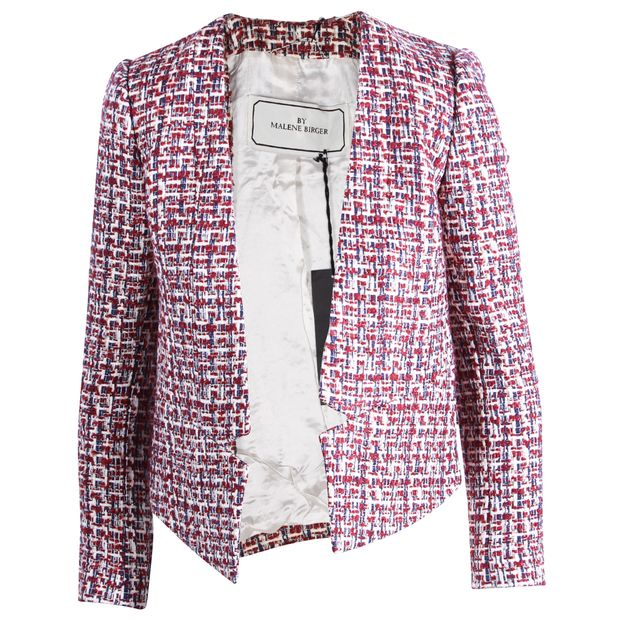 a7ac374b Tweed Taquesta Boucle Jacket by BY MALENE BIRGER | StyleTribute.com