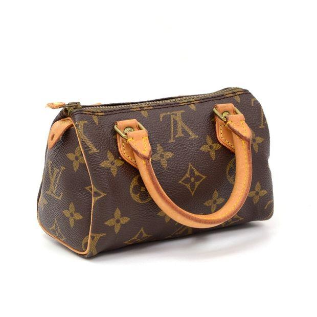 1588681f565 Mini Speedy Sac HL Monogram Canvas Hand Bag