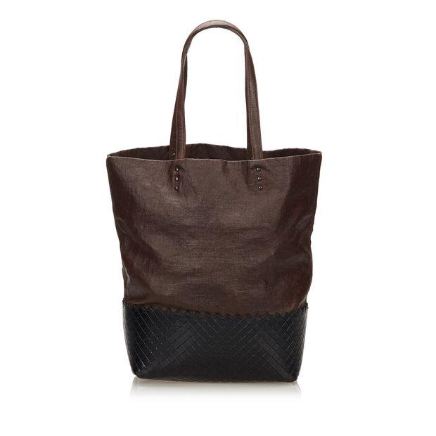 f5843e224a Intrecciato Leather Tote Bag by BOTTEGA VENETA