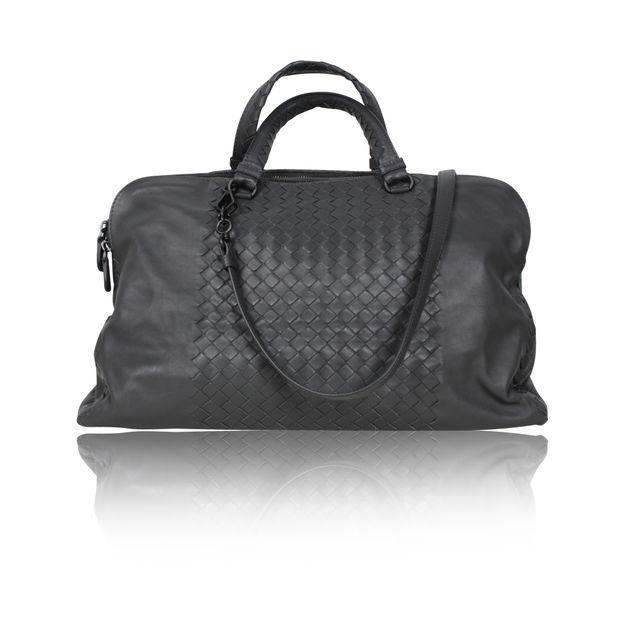 cc0f3639aa Large Tote Bag In New Light Grey Intrecciato Nappa by BOTTEGA VENETA ...