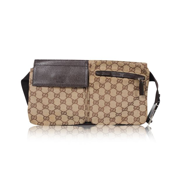 80c049247a5f GUCCI Original GG Canvas Belt Bag GUCCI Original GG Canvas Belt Bag zoomed