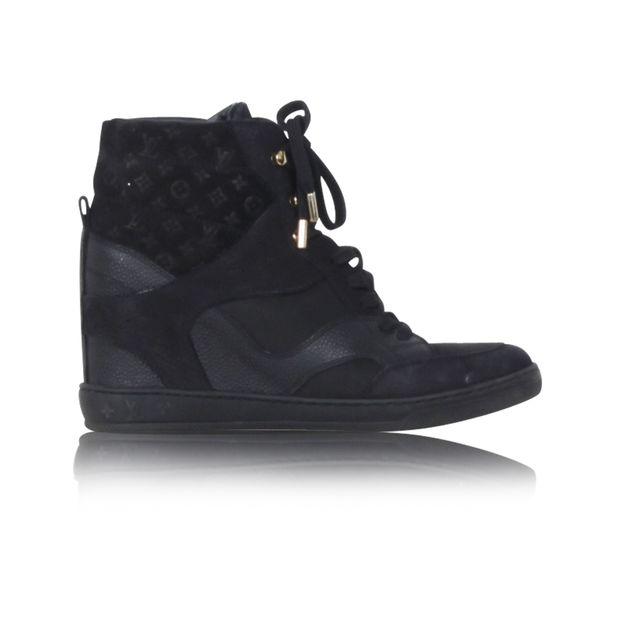 53c23d9d612 LOUIS VUITTON Cliff Top Wedge Sneakers 0 thumbnail