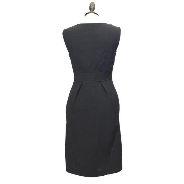 new products 84f20 1a3d8 Black Streamlined Dress