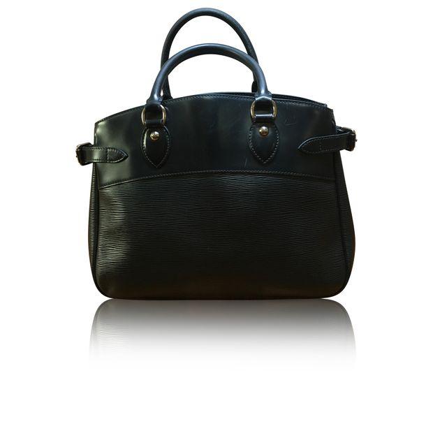 "78e3646e350 14"" Louis Vuitton Epi Leather Tote Bag (Black)"