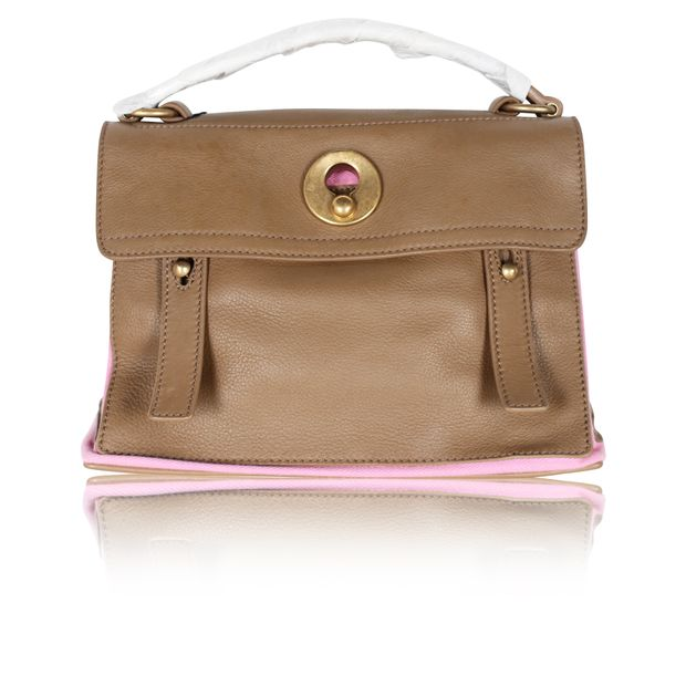 caffb9b340f Brown Muse Two Bag by YVES SAINT LAURENT | StyleTribute.com