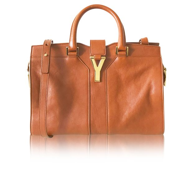 259acfcf3bd Camel Cabas ChYc Bag by YVES SAINT LAURENT | StyleTribute.com