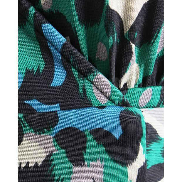 c08b8f3eb022 DIANE VON FURSTENBERG Vintage Judy Wrap Dress With Leopard Print 4 thumbnail