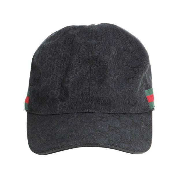 d3b15890ead0b Original GG Canvas Baseball Hat by GUCCI
