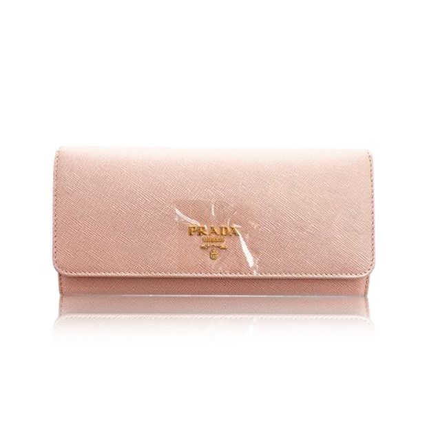 ebadc57f7a8c94 Saffiano Metal Long Wallet - 1M1132 by PRADA | StyleTribute.com