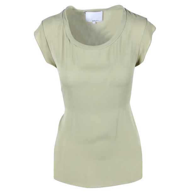 18a4647f771cbe Green Silk Muscle Tee by 3.1 PHILLIP LIM | StyleTribute.com
