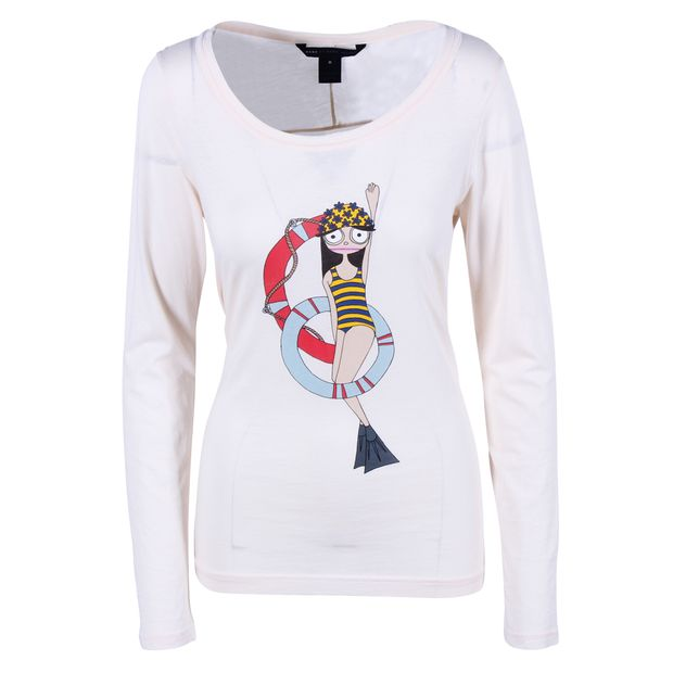 146ab3e74f0 MARC BY MARC JACOBS Miss Marc Makes A Splash Long Sleeve Tee 0 thumbnail