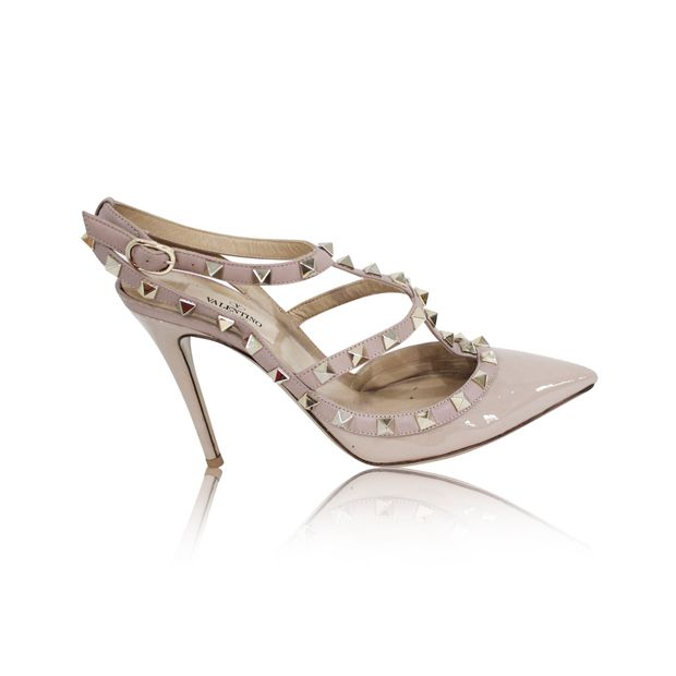 5e77b77c9 Rockstud patent leather heels by VALENTINO | StyleTribute.com