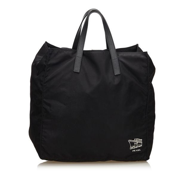ac7a07a5e935 Nylon Tote Bag by PRADA | StyleTribute.com
