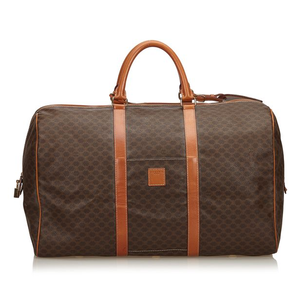 Macadam Boston Bag by CÉLINE  c6cdc890c7d87