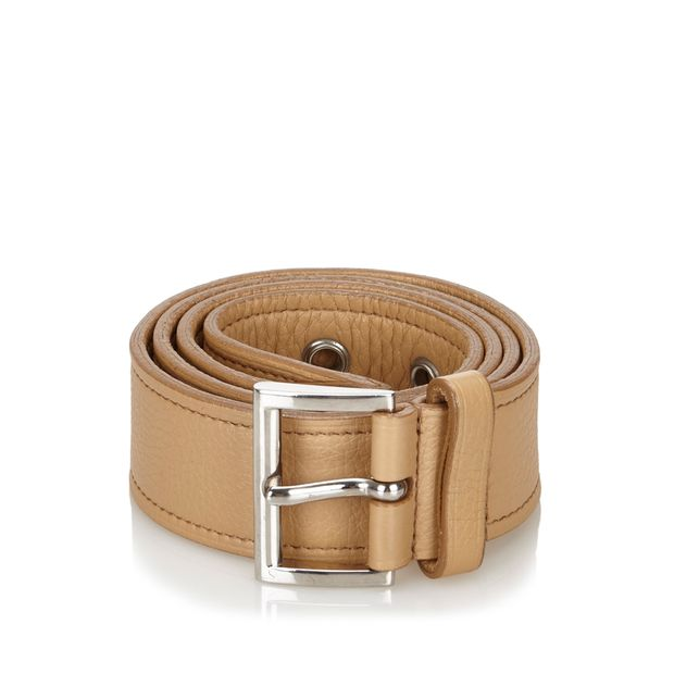 a3904f3ebafc PRADA Leather Belt 0 thumbnail