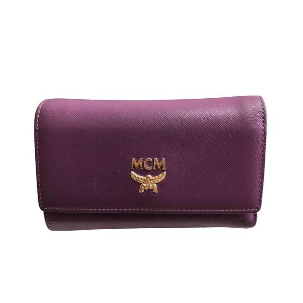 6c40b43ece7e11 Elda Medium Trifold Wallet by MCM   StyleTribute.com