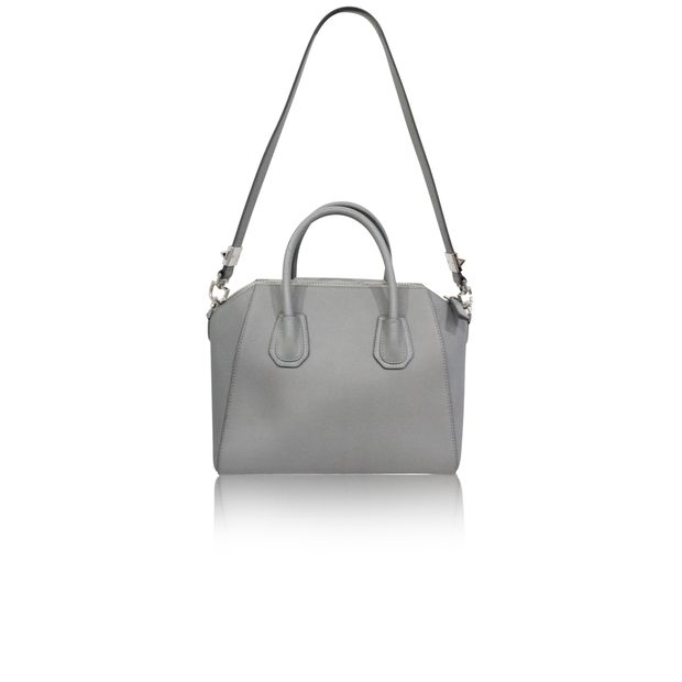 b250a7ed8014 Antigona Grey Tote Bag by GIVENCHY | StyleTribute.com