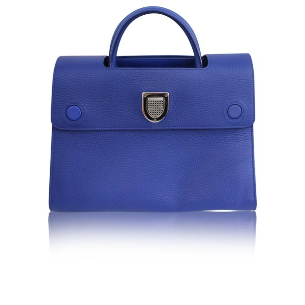 932a807d6f Diorever Tote Satchel Calfskin Leather by DIOR | StyleTribute.com