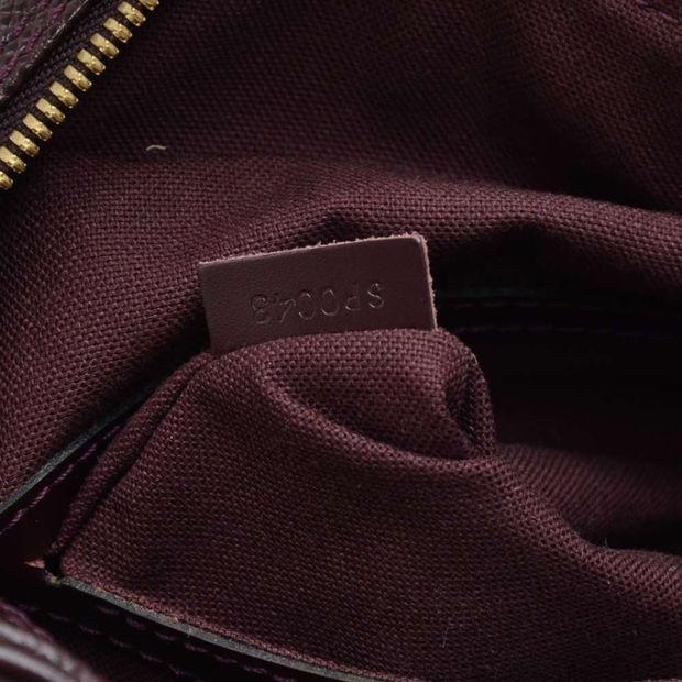 67cd17251b8 LOUIS VUITTON Louis Vuitton Reporter PM Burgundy Taiga Leather Shoulder Bag  9 thumbnail