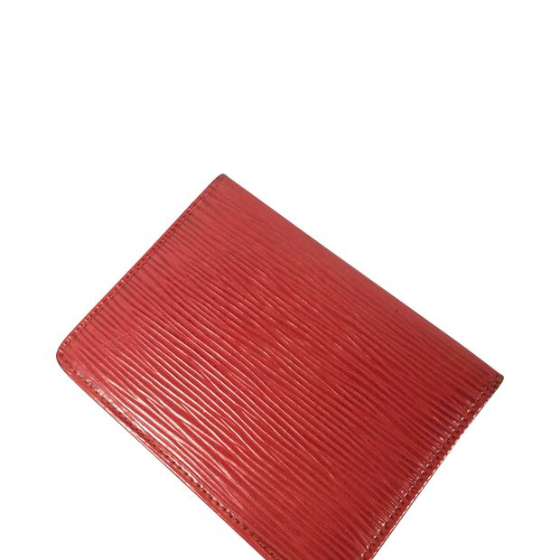 a9038358e8d3b Red Epi Card Holder by LOUIS VUITTON | StyleTribute.com