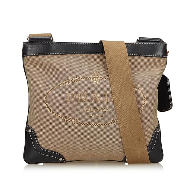 29ff31b554 Canapa Canvas Crossbody Bag by PRADA