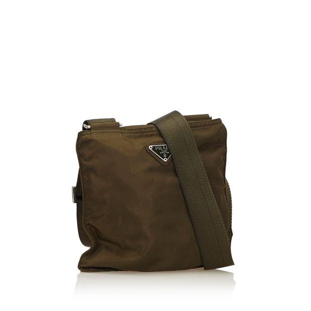 9063c68ba8 PRADA Nylon Crossbody Bag 1 thumbnail