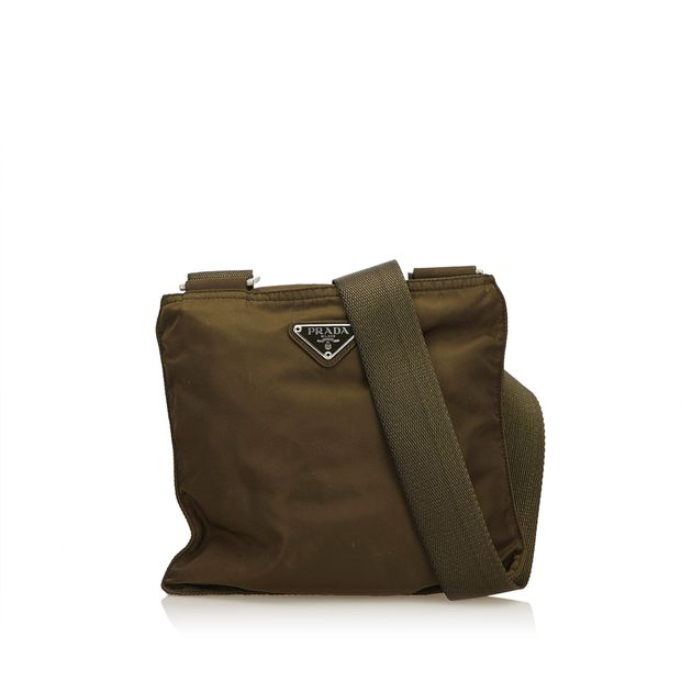 55ebd11b5be1 Nylon Crossbody Bag by PRADA | StyleTribute.com