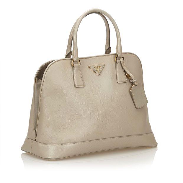 1b3fb343818 Saffiano Leather Handbag by PRADA | StyleTribute.com