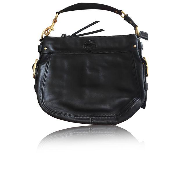 bd9b59dda86 Original Coach Leather Hand Bag by COACH | StyleTribute.com