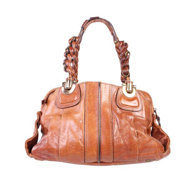 99937e62 Vintage Brown Leather Bag