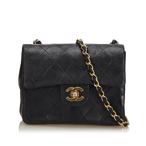 927ea30c3d5cbc Classic Mini Flap Crossbody Bag by CHANEL | StyleTribute.com
