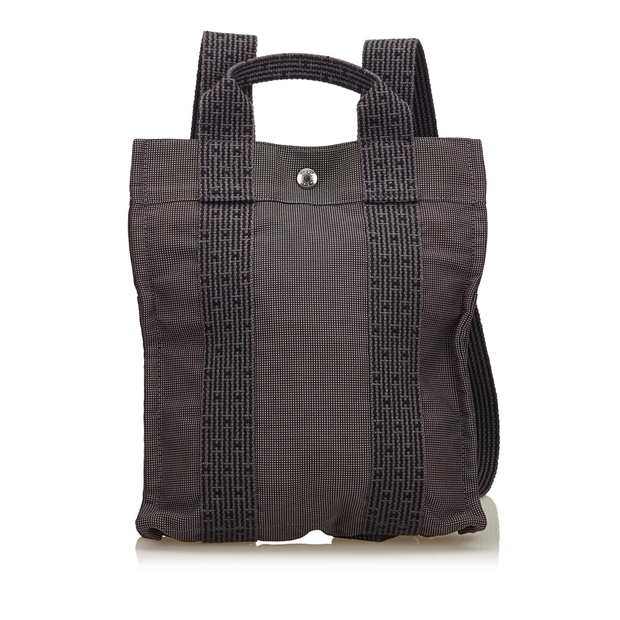 cad2a27d73 Herline Canvas Backpack PM by HERMÈS