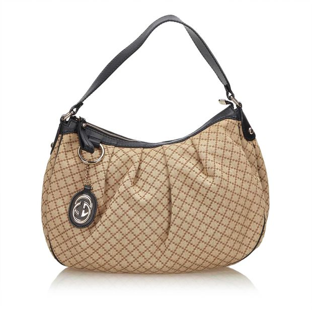 661c014040f006 Diamante Sukey Shoulder Bag by GUCCI | StyleTribute.com