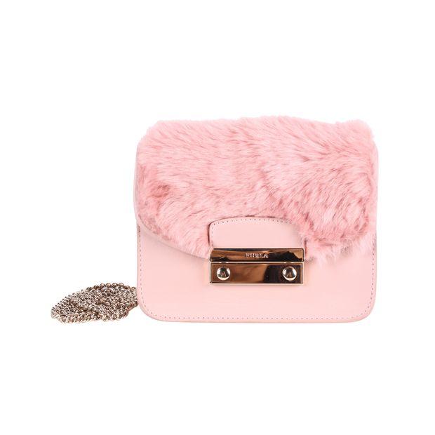 bfa860bb64f1 Mini Metropolis Fur Bag by FURLA